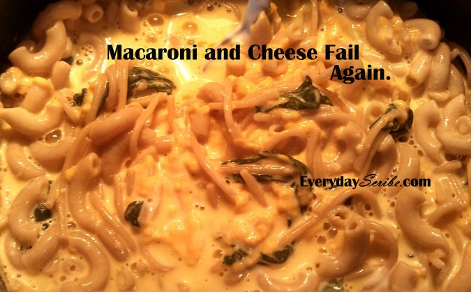 My Epic Mac & Cheese Fail