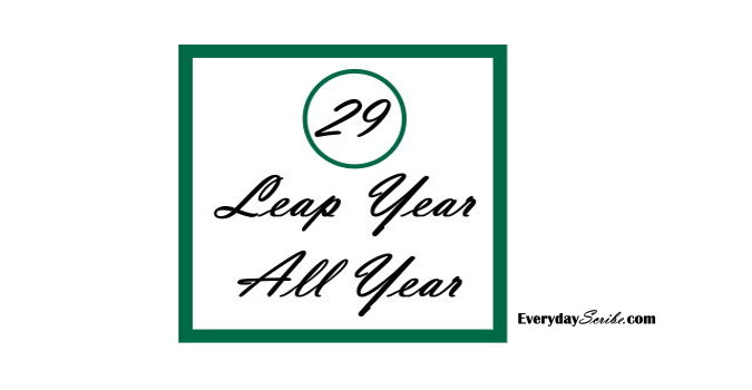 Leap Year, All Year