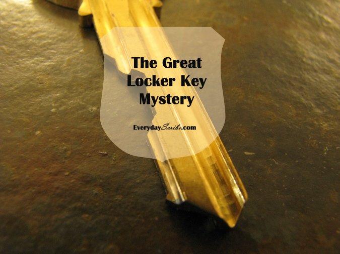 The Great Locker Key Mystery