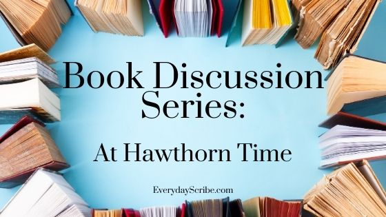 books surrounding the text: Book Discussion Series: At Hawthorn Time