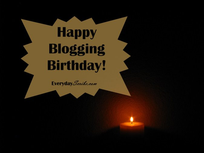 Happy Blogging Birthday