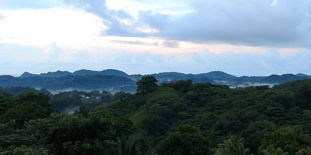 Magical Mountains Above Samara, Costa Rica
