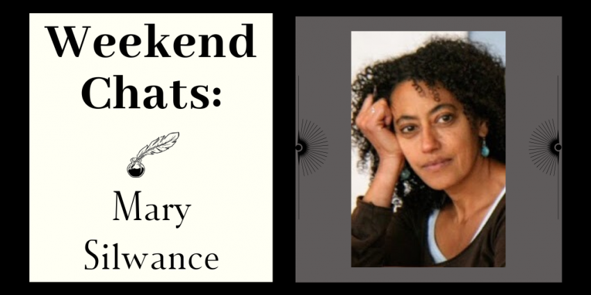 Photo of Mary with the text: Weekend Chats: Mary Silwance