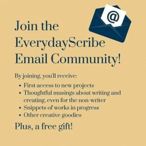 EverydayScribe Email Community