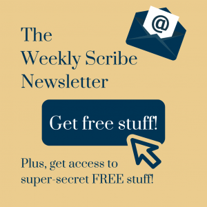 The Weekly Scribe - Get Free Stuff