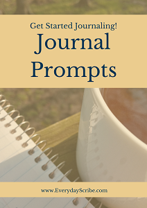 Image of Journal Prompt Cover